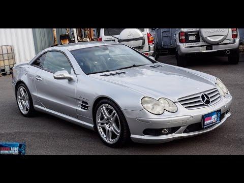 Walk Around/Test Drive - 2002 Mercedes Benz SL55 AMG - Japanese JDM Car Auctions