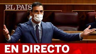 DIRECTO   SÁNCHEZ responde a CASADO en la SESIÓN DE CONTROL