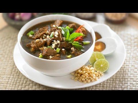 Resep Masakan Rawon Daging Khas Surabaya