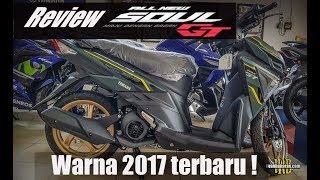 Warna terbaru Yamaha new Soul GT 2017 | Pelk dilabur emas !