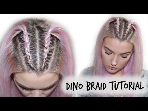 Mini Double Dutch Braid Tutorial Lovefings Youtube