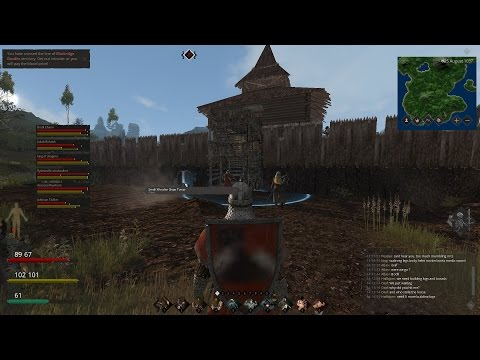 LIFE IS FEUDAL: HUGE SIEGE 20+ PLAYERS PART 2 SIEGE TOWER