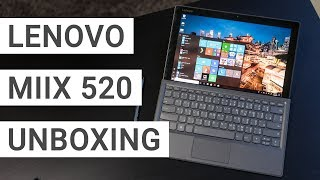 Lenovo MIIX 520 Unboxing: Faster than the Surface Pro?