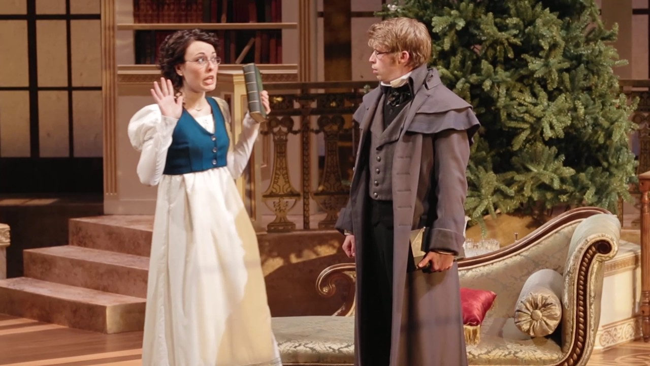 Miss Bennet Christmas At Pemberley.Critics Are Raving About Miss Bennet Round House Theatre