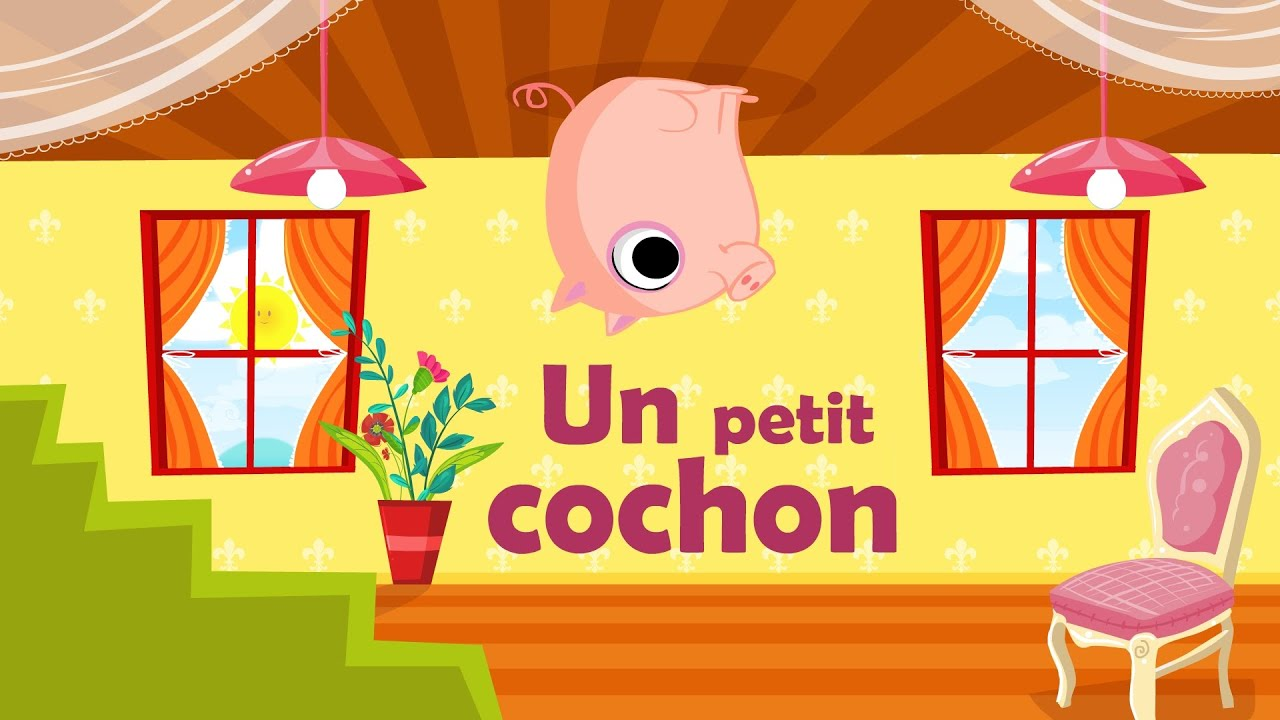 Un petit cochon pendu au plafond comptine gestes avec - Un petit cochon pendu au plafond ...