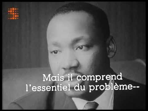 MARTIN LUTHER KING rare! 1962 Belgian interview