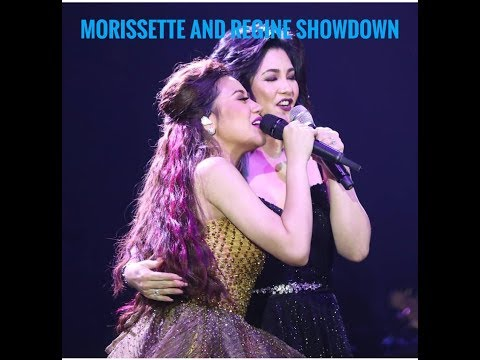 Superb! Morissette Amon and Regine Velasquez showdown at Morissette Is Made concert