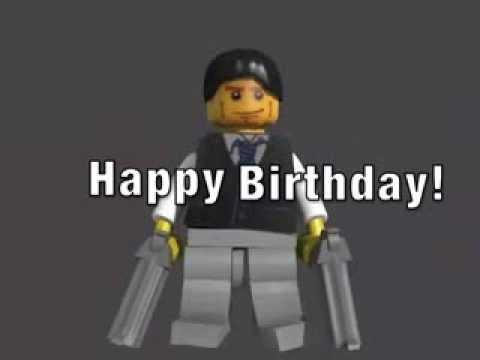 Lego James Bond Birthday Card Generic YouTube – James Bond Birthday Cards