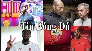 Tin bóng đá | Chuyển nhượng | 15/08/2018 : Zidane thay Mourinho ở MU, Barca bỏ Pogba, Real mua Savic