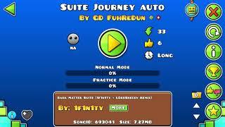 Suite Journey by FuhReDun - A JORNADA DE UM MINUTO 🤔 - Geometry Dash 2.11