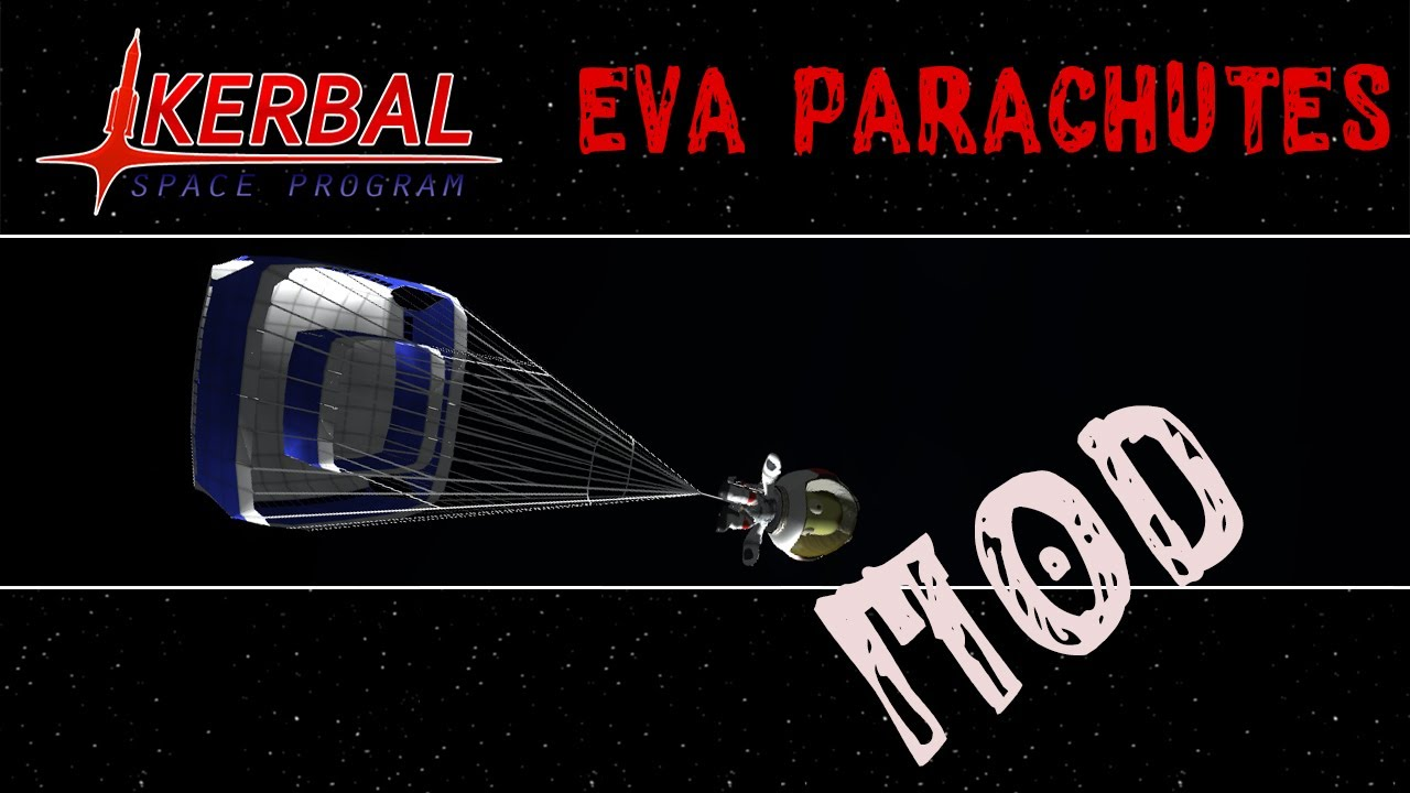 Kerbal Space Program | EVA parachutes [SK/CZ] - YouTube