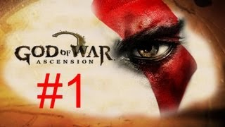 God of War Ascension - Walkthrough part 1 HD Gameplay GOW 4 single player let's play part 1