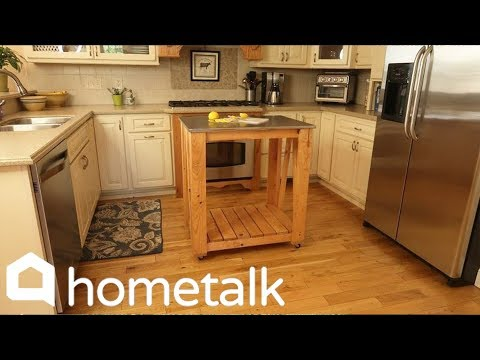 How To Build A Simple Kitchen Island | Hometalk