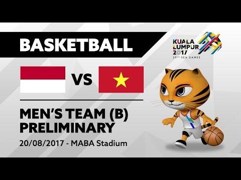 KL2017 29th SEA Games | Men's Basketball - INA 🇮🇩 vs VIE 🇻🇳