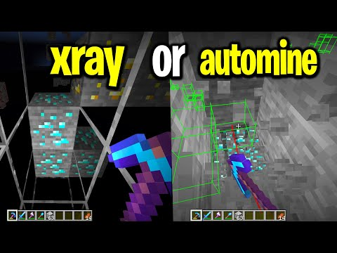 What gets you more diamonds, XRAY or AUTOMINE?