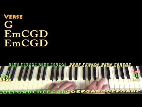 Fight Song (Rachel Platten) Piano Lesson Chord Chart