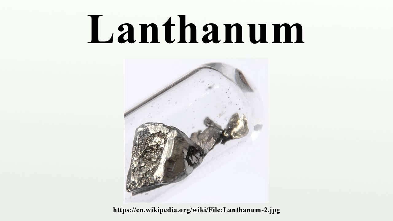 Lanthanum youtube gamestrikefo Gallery