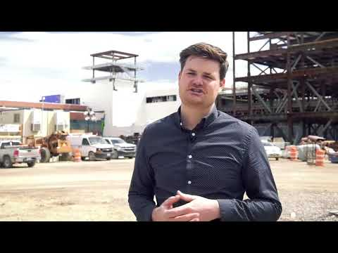 """Chris Wharton,  """"Topping Out"""" Ceremony at Salt Lake International Airport"""