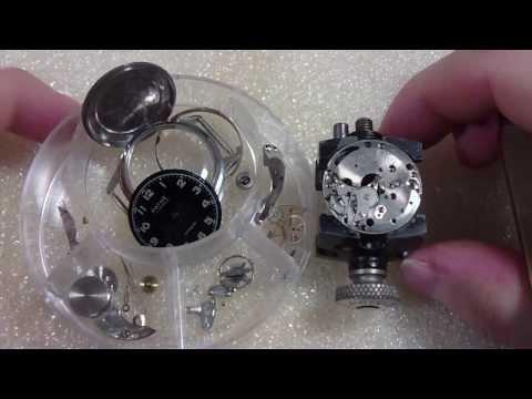 How I take apart a wrist watch, Pathe