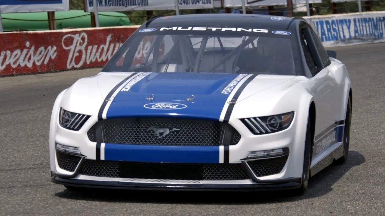 Ford Mustang Gt Nascar - Supercars Gallery