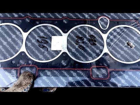 Замена Прокладки ГБЦ ВАЗ 2109, 2110, 2114 8 клапанов. Снятие Головки Инжектора ВАЗ 2109, 2114
