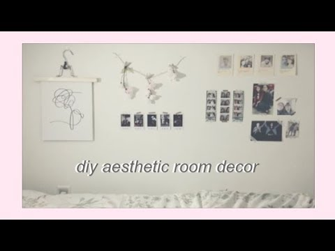 Diy Aesthetic Room Decor Ideas Kpop Inspired ♡ Youtube