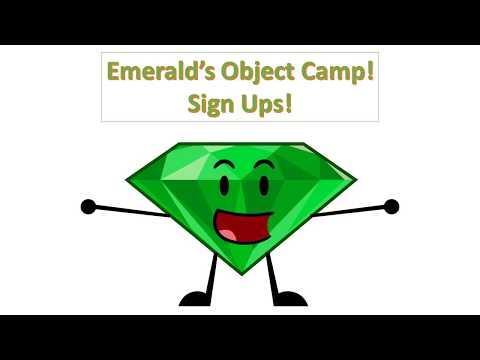 Emerald's Object Camp (EOC) Sign Ups! [CLOSED] 16/16