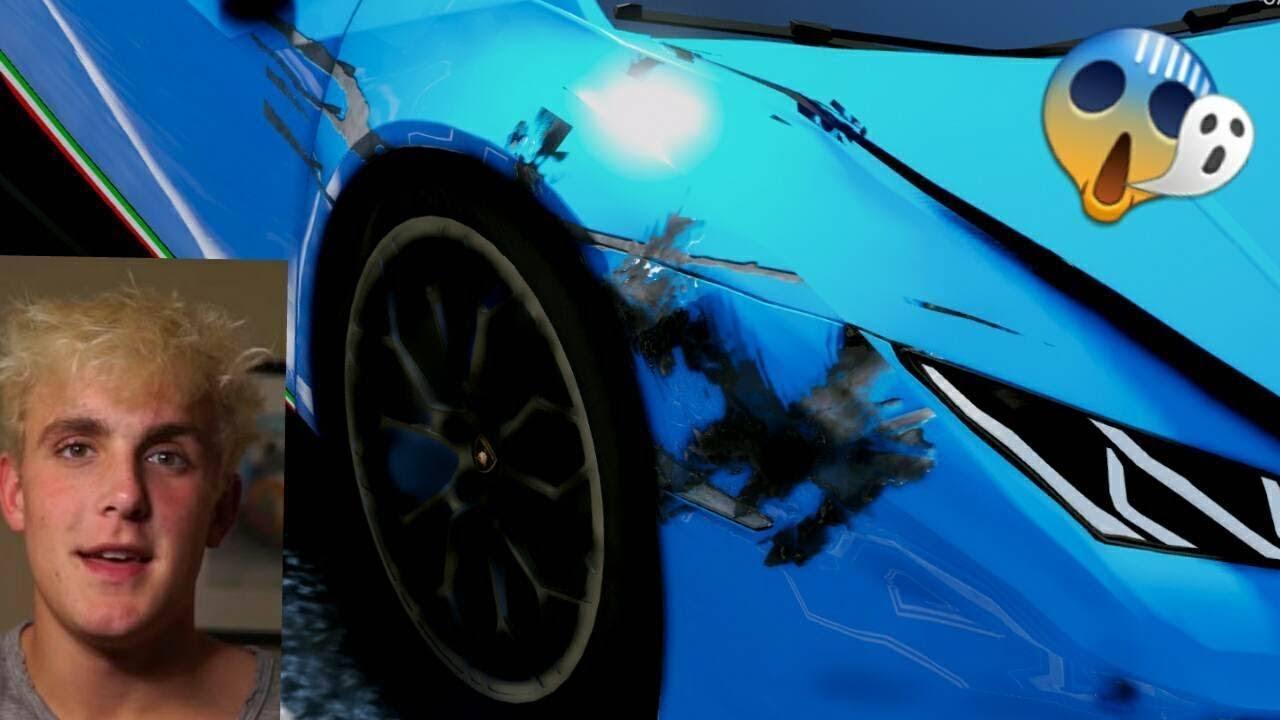 I Crashed Jake Pauls New Lamborghini Huracan Performante 60fps