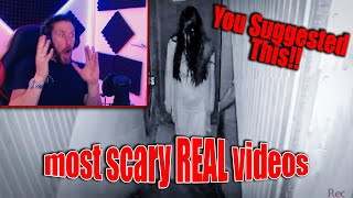 5 OF THE MOST REAL SCARY VIDEOS - YOU GUYS ASKED ME TO CHECK OUT NUKE'S TOP 5