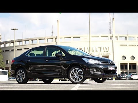 REVIEW CITROEN C4 LOUNGE EXCLUSIVE THP 1.6 16V TURBO 2017 | #07