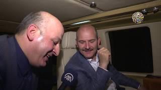 Süleyman Soylu helikoptere bindi Berat Albayrak duymasın!