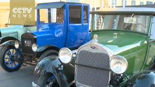 Dubai hosts open-air classic car exhibition