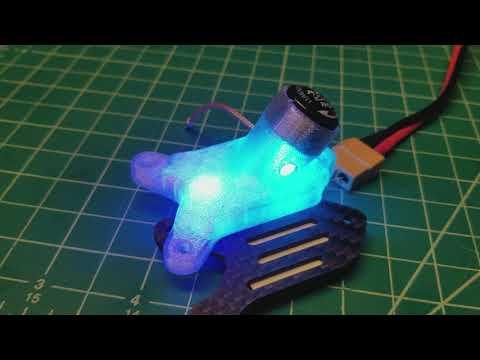 RaceFlight Big Deal 3 inch spec class racer top plate w/ LEDs