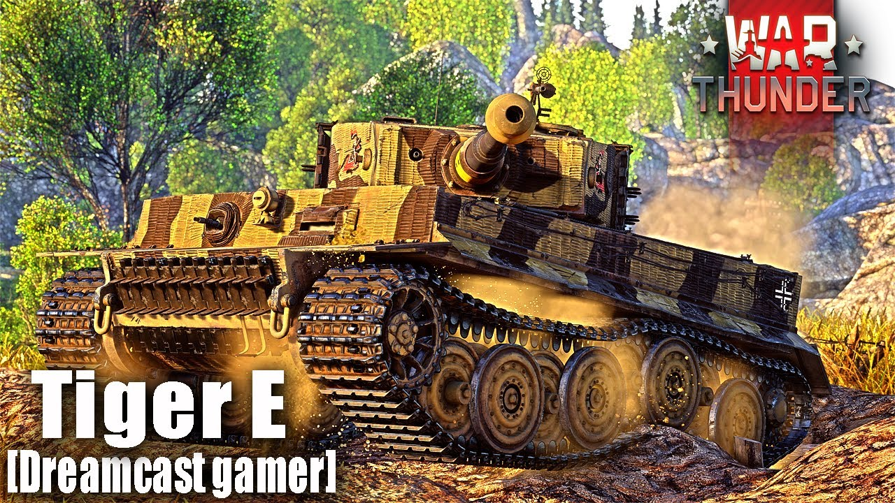 [Dreamcast gamer]War Thunder: รีวิว Tiger E เสือE [4K]