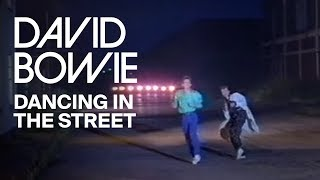 Смотреть клип David Bowie & Mick Jagger - Dancing In The Street