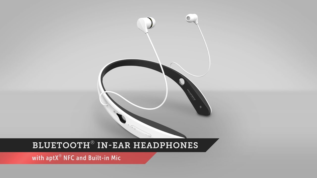 bluetooth in ear headphones monoprice quick look youtube. Black Bedroom Furniture Sets. Home Design Ideas
