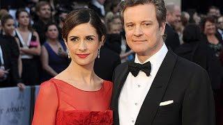 Колин Ферт и его жена