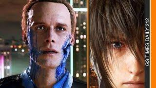 GS Times [DAILY]. Дэвид Кейдж, Final Fantasy 15, «Частица Бога»