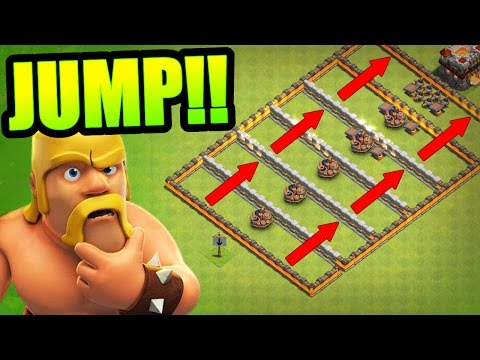 IS THIS THE HARDEST TROLL BASE EVER!? - Clash Of Clans - EPIC MINI GAME BASE!!