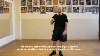 Биомеханика бокса. Урок №1 Biomechanical boxing