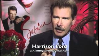 Harrison Ford interview for Sabrina...