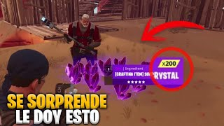 😍💖 LOOK AS I HELP THIS GOOD PERSON *SURPRISING* FORTNITE SAVE THE WORLD -valde