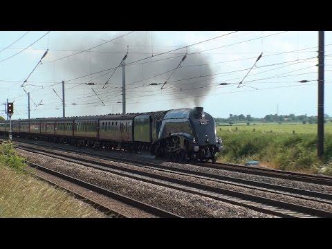 UK - 60007 on Cathedrals Express, York - 5th July 2015