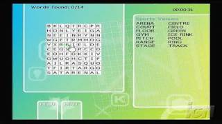 Puzzler Collection Nintendo Wii Gameplay - Wordsearch