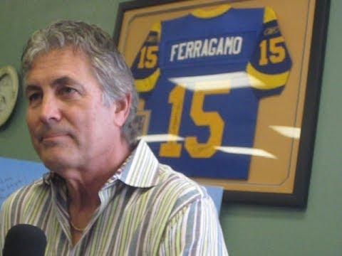 Vince Ferragamo Interview 2014 Youtube