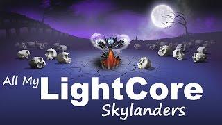 All ingame LightCore Skylanders [PS4] 1080p