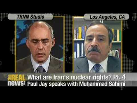 """Is Iran a """"threat to peace and security""""?"""