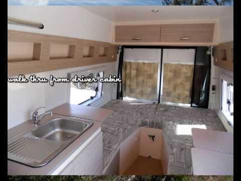 Campervan Conversion For Van Transit Sprinter Youtube