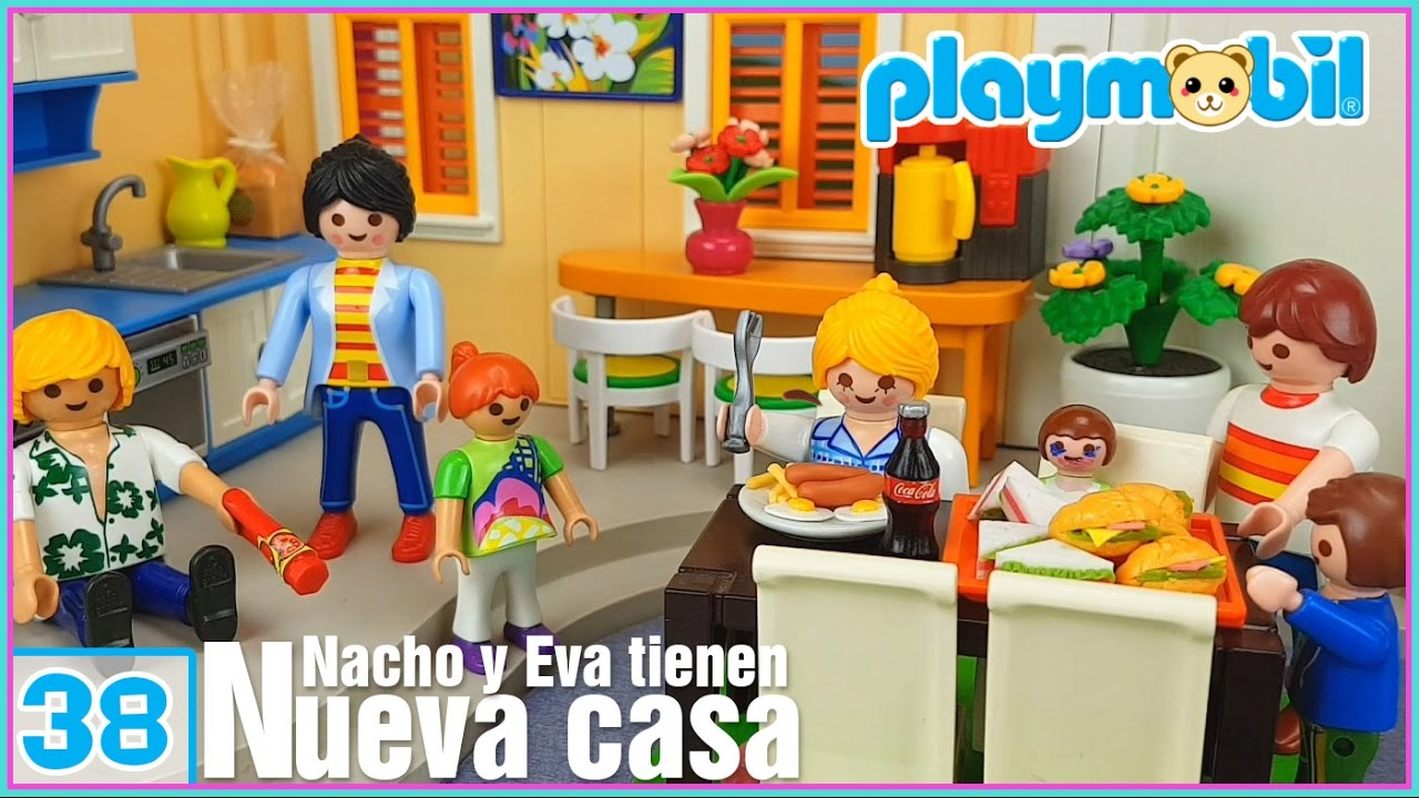 Playmobil 38 la nueva casa de nacho y eva eva est for La casa de playmobil