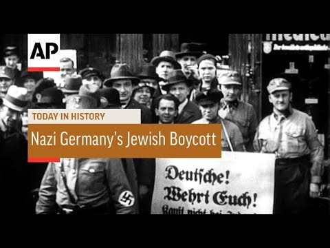 Nazi Germany Stages Jewish Boycott - 1933 | Today In History | 1 June 18
